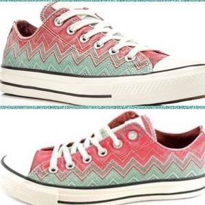 Converse All Star Low Top Missoni NWT Sneaker W8